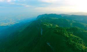 摩围山美丽山顶摄影图片