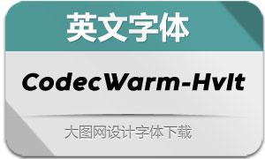 CodecWarm-HeavyIt(英文字体)