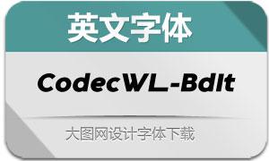 CodecWarmLogo-BdIt(英文字体)