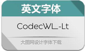 CodecWarmLogo-Lt(英文字体)