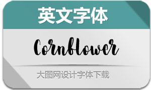Cornflower-Regular(英文字体)