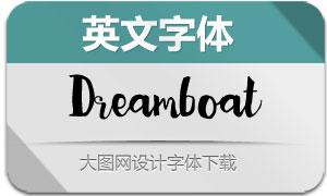 Dreamboat-Regular(英文字体)