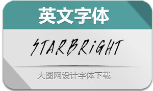 Starbright-Regular(英文字体)