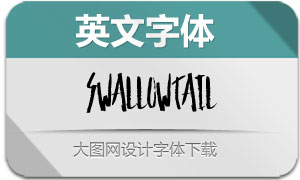 SwallowTail-Regular(英文字体)