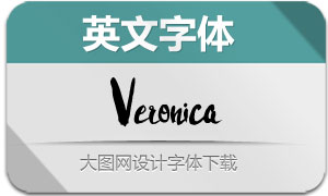 Veronica-Regular(英文字体)