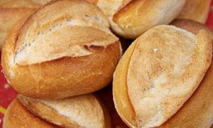 口感香甜面包近景特写摄影高清图片