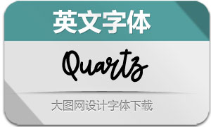 Quartz-Regular(英文字体)