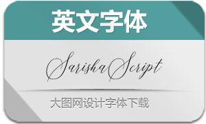 SarishaScript(英文字体)