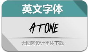 Atone(英文字体)