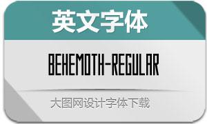 Behemoth-Regular(英文字体)