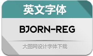 Bjorn-Regular(英文字体)