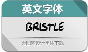 Bristle(英文字体)