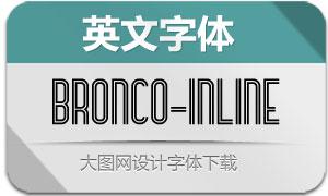 Bronco-InLine(英文字体)