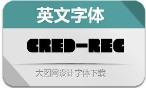 Cred-Regular(英文字体)