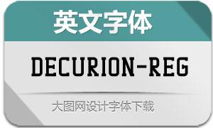 Decurion-Regular(英文字体)