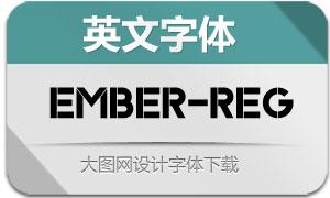 Ember-Regular(英文字体)