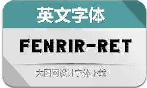 Fenrir-Retro(英文字体)