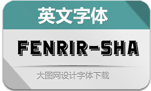 Fenrir-Shadow(英文字体)
