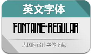 Fontaine-Regular(英文字体)