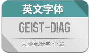 Geist-Diagonal(英文字体)