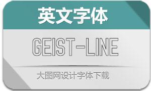Geist-Line(英文字体)