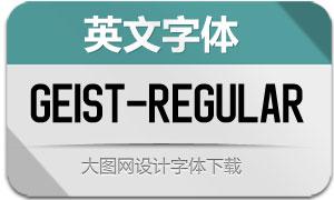 Geist-Regular(英文字体)