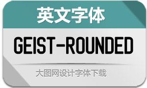 Geist-Rounded(英文字体)
