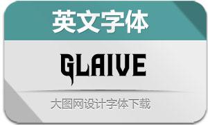 Glaive(英文字体)