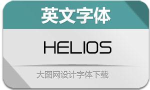Helios(英文字体)