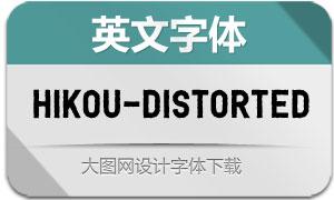 Hikou-Distorted(英文字体)
