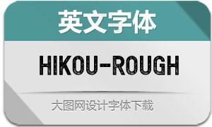 Hikou-Rough(英文字体)