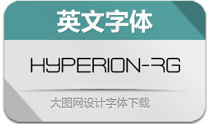 Hyperion-Regular(英文字体)