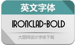 Ironclad-Bold(英文字体)