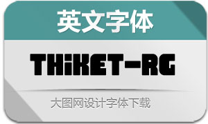 Thiket-Regular(英文字体)