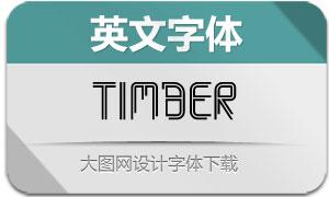 Timber(英文字体)