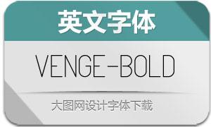 Venge-Bold(英文字体)