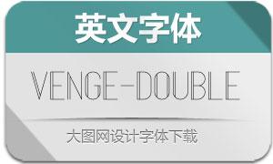 Venge-Double(英文字体)