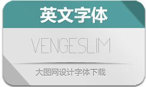 Venge-Slim(英文字体)