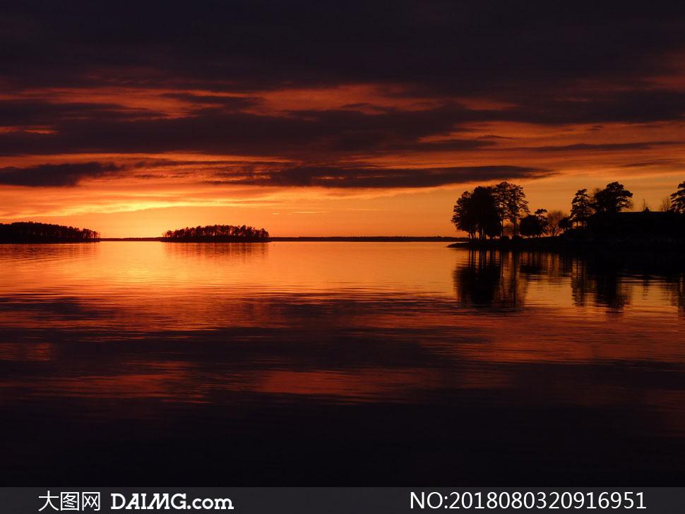 cc0; 关 键 词: 高清摄影大图图片素材自然风景风光夕阳落日日落余晖
