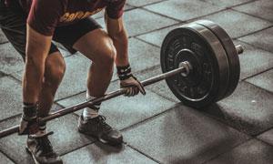 体能力量训练人物局部特写高清图片
