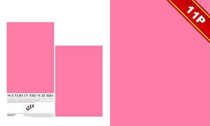 影樓時尚簡潔藝術寫真模板集V06