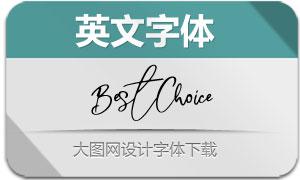 BestChoice-Regular(英文字体)