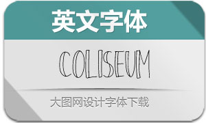 Coliseum-Regular(英文字体)