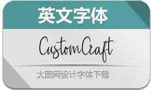 CustomCraft-Regular(英文字体)