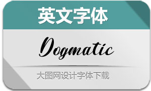 Dogmatic-Regular(英文字体)