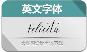 Felicita-Regular(英文字体)