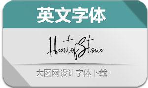 HeartofStone-Regular(英文字体)