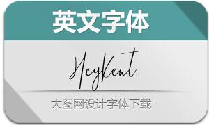 HeyKent-Regular(英文字体)