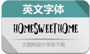 HomeSweetHome(英文字体)
