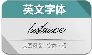 Instance-Regular(英文字体)